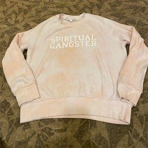 Spiritual gangster slouchy sweatshirt